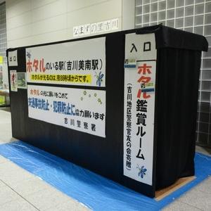 吉川美南駅 ホタル