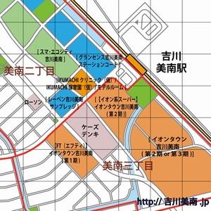 吉川美南 地図