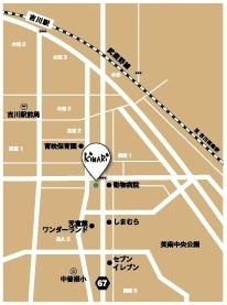 KiNaRi (キナリ) 地図