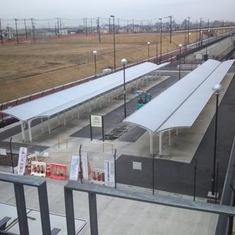 吉川美南駅西口駐輪場