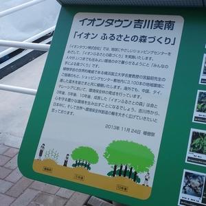 イオンタウン 吉川美南 植樹祭