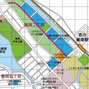 スマエコシティ イクマチ 地図