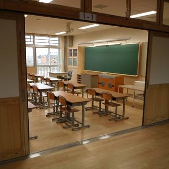 美南小 教室
