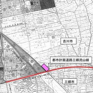 吉川美南駅 謎の土地 地図